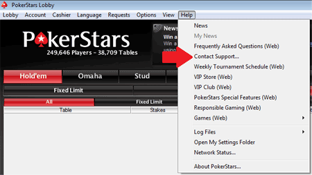 PokerStars Support