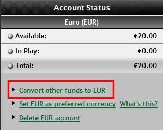 Směnit na EUR