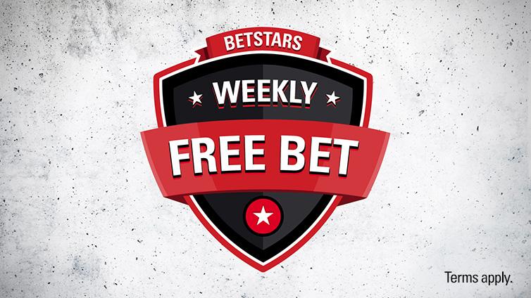 Bet $25 & Get $5 Free Bet – every week!