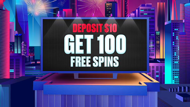 Welcome offer: 100 Free Spins