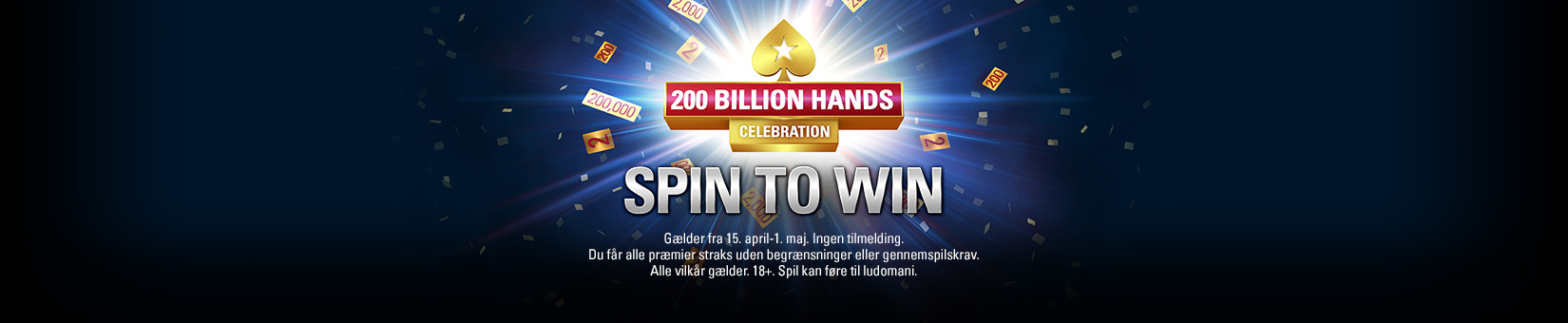 200 Billion Hands Celebration: Spin To Win