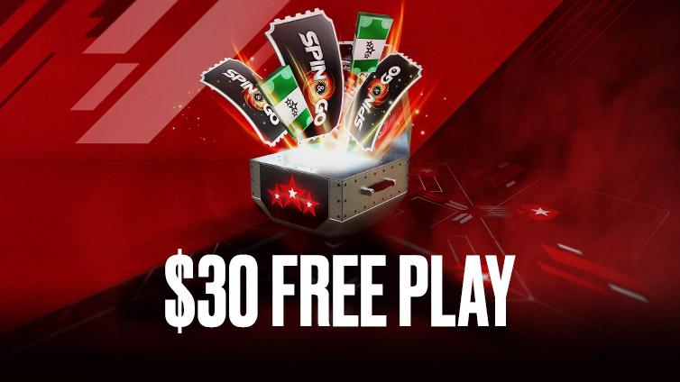 $30 Free Play