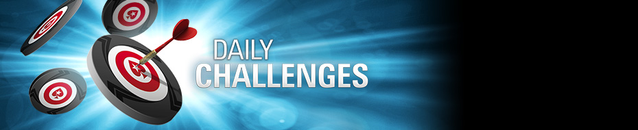 Play poker to earn free chips and tickets every day of the