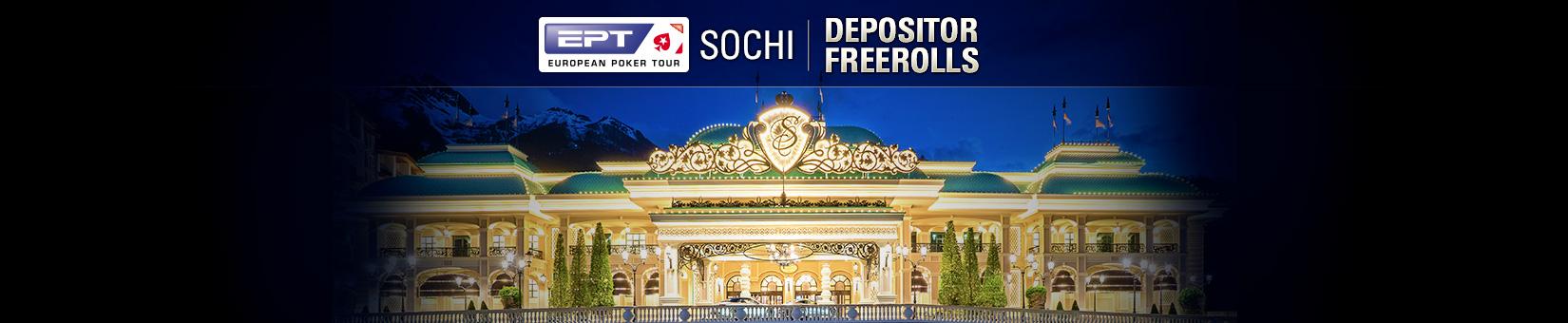 Sochi Depositor Freerolls