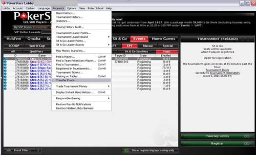 pokerstars geld an anderen spieler überweisen