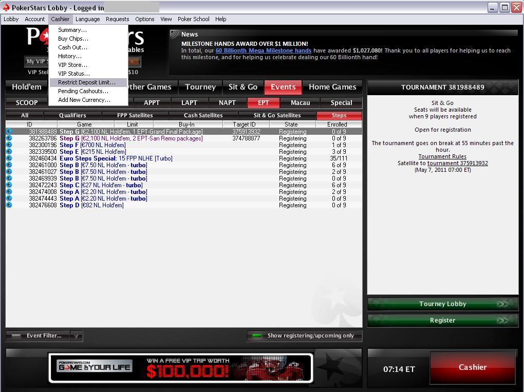 Pokerstars Security
