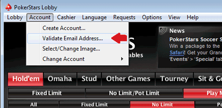 PokerStars Account Verification