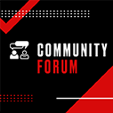 Get Involved with the Community Forum here