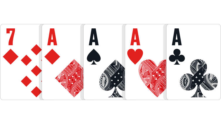 Cartas | Four of a kind (Poker)