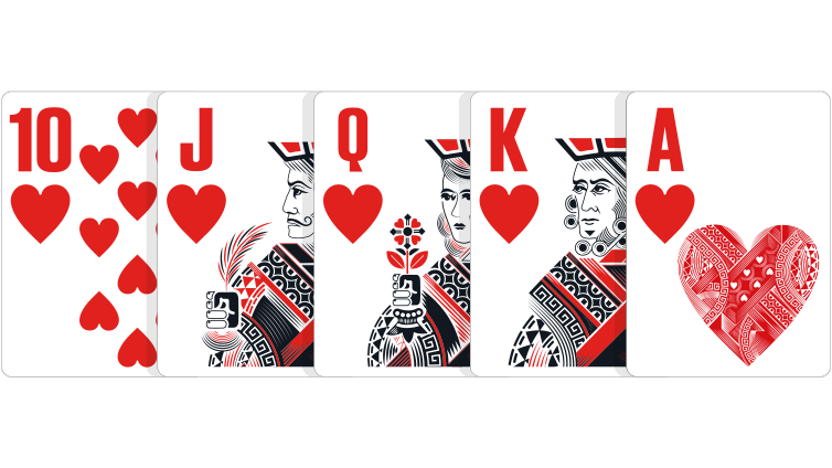 Cartas | Royal Flush