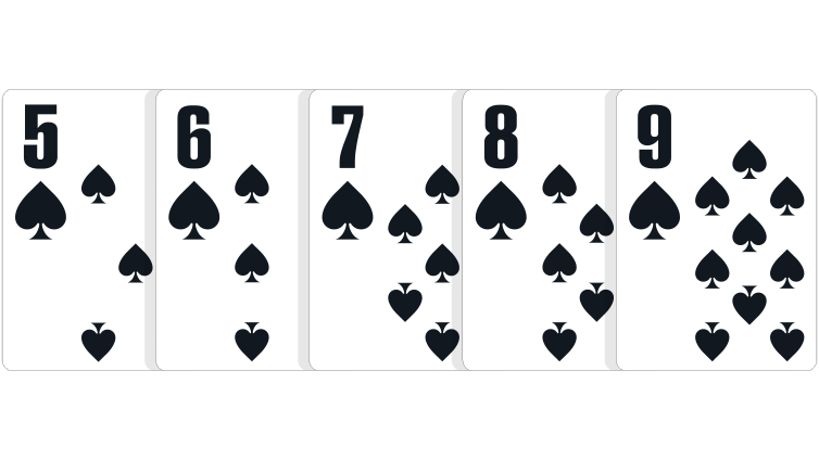 poker hands sequence