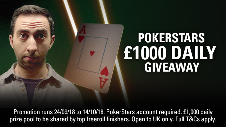 £1,000 Daily Giveaway