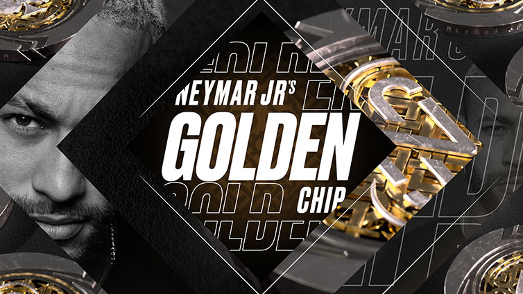 Neymar Jr Golden Chip