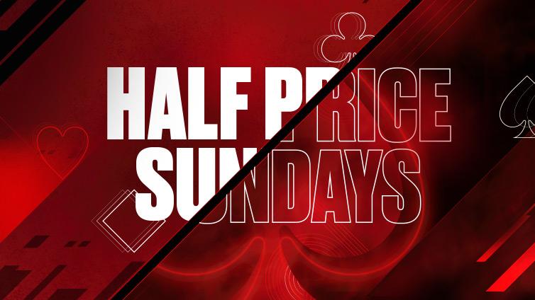 Half Price Sunday
