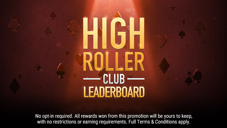 High Roller Club Leader Board