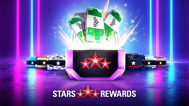 Stars Rewards Jackpot Chests