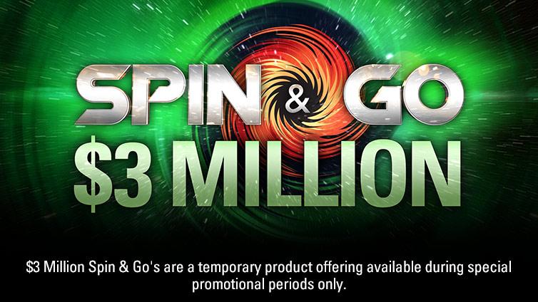 $3 Million Spin & Go's