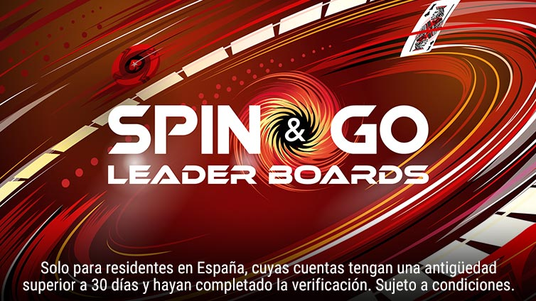 Spin & Go Leader Boards