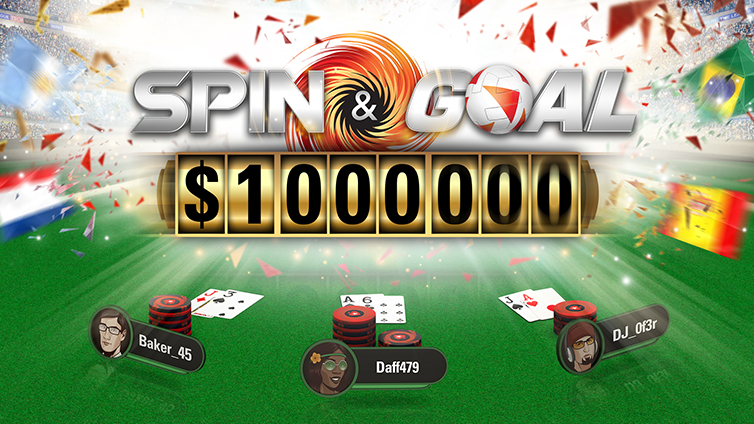 Spin & Goal – Win up to $1M