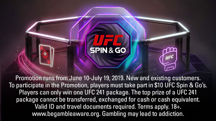 Win a trip to UFC 241 in California