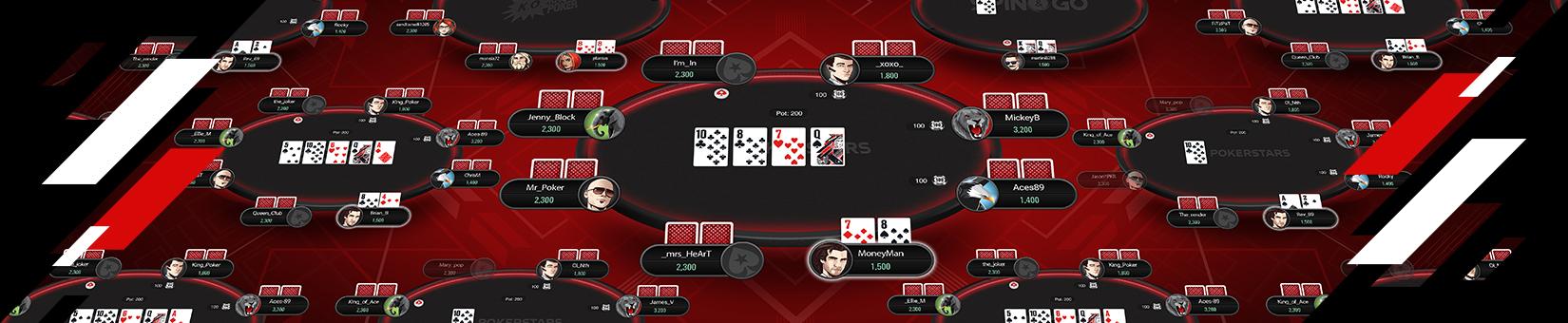 Poker Tournament Types Pokerstars Structured Tournaments