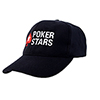 PokerStars Adjustable Black Cap