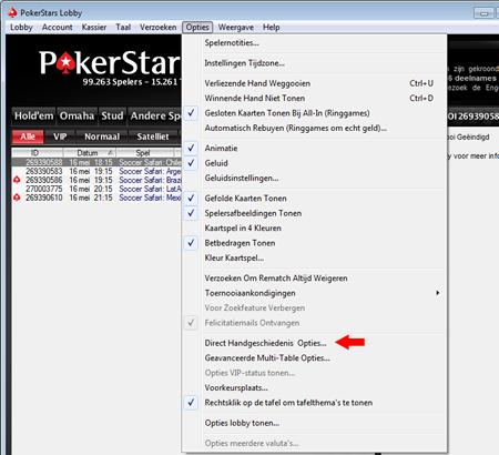 PokerStars Hand History