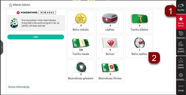 Norādījumi par spēles biļetes izmantošanu datora programmā