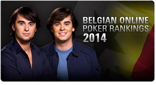 Belgian Online Poker Rankings