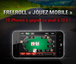 Freeroll Jouez Mobile