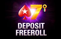 Deposit Freeroll