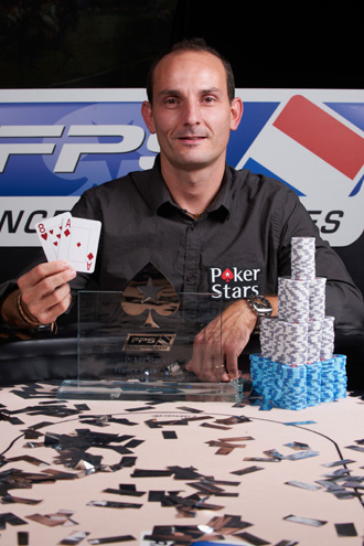 Christophe Monnin - FPS Lyon Champion