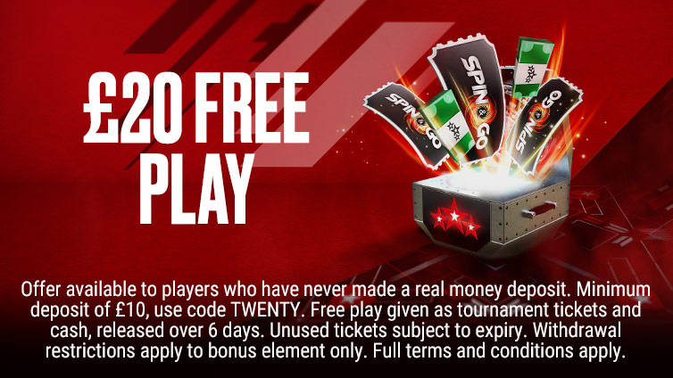 Free £20 First Deposit Offer