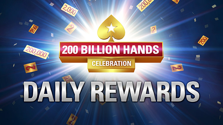 200 Billion Hands Celebration: Get Daily Rewards