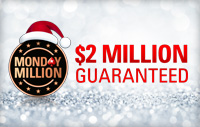 $2 miljonu Monday Million turnīrs (26. decembris)