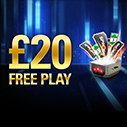Deposit and Claim £20 of Free Play