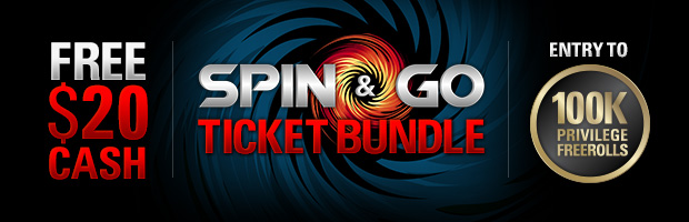 Spin And Go Freeroll Ticket