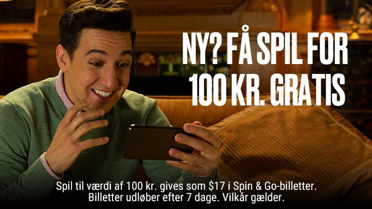 Get 100 Kroner in Free Play