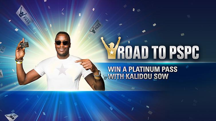 Win a Platinum Pass with Kalidou Sow