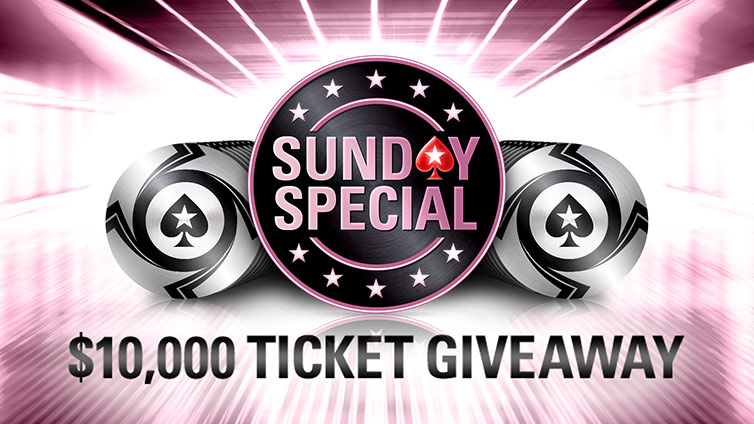 $10,000 Ticket Giveaway to the Sunday Special