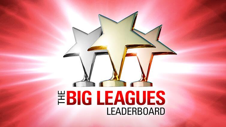 Big Leagues - kuukausittainen sarjataulukko