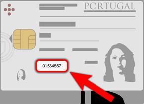 Número do Cartão de Cidadão