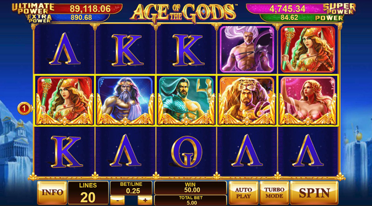 Age of the Gods™ Slot Machine Game