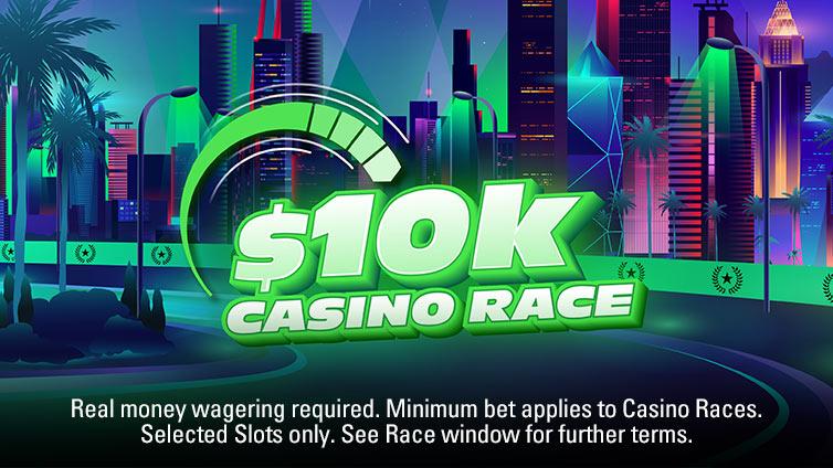 $5,000 Casino Race