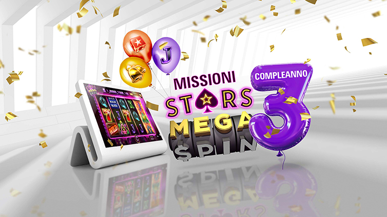 Play Stars Mega Spin to complete your Challenges