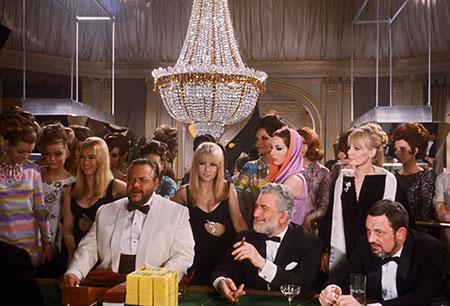 Menschen im Kasino