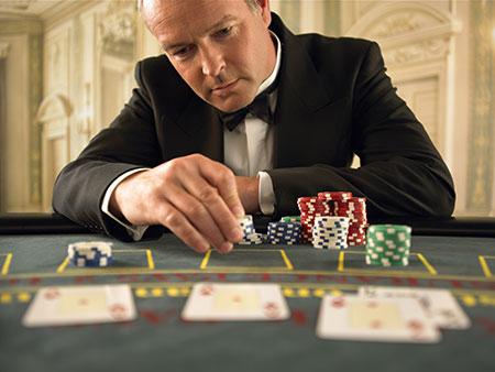 Charity poker room crime