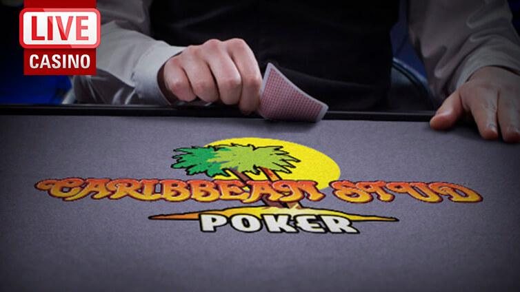 Live Caribbean Stud -pokeri