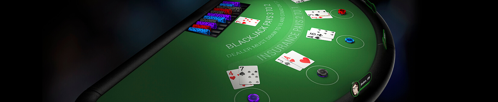 Blackjack heads up