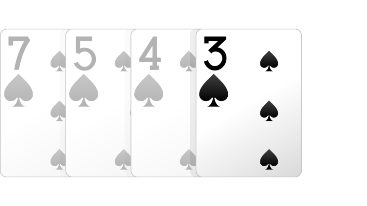 One Card Hand